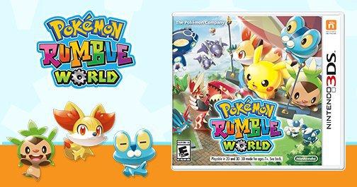 La edición física de Pokémon Rumble World llegará a América