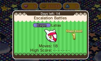 [03/02/2016] Novedades de Pokémon Shuffle