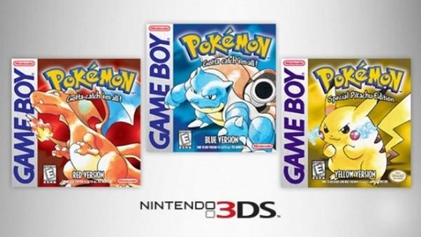 Confirmado el precio de Pokémon Rojo, Azul y Amarillo