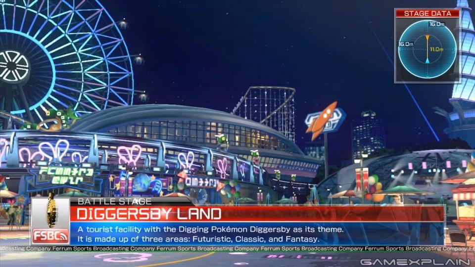 Nuevo escenario para Pokkén Tournament: Diggersby Land