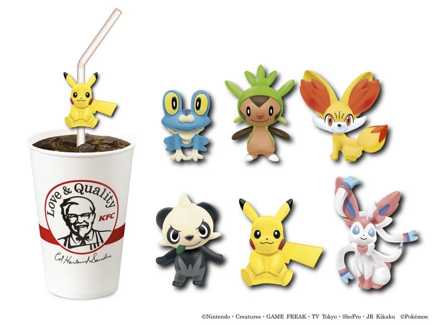Los restaurantes KFC japoneses regalaran figuras de Pokémon