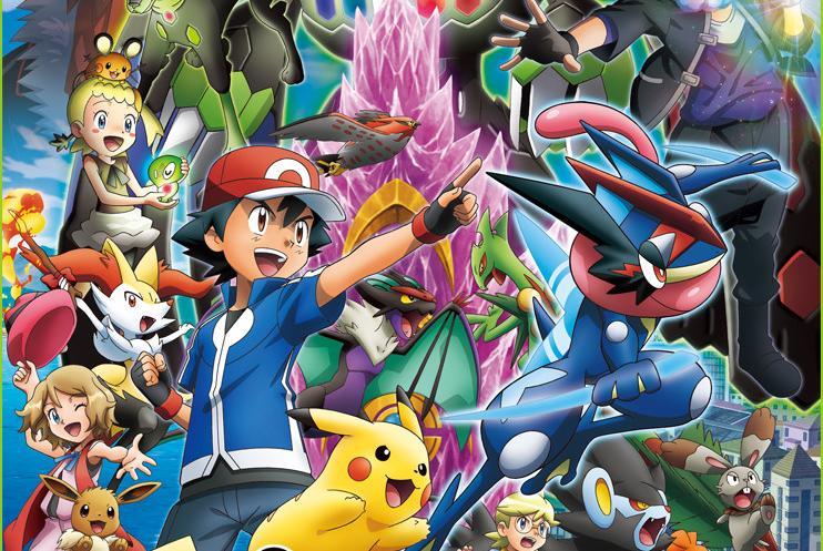 Review de Pokémon XYZ: #29 ¡Mega Abomasnow vs Greninjash! ¡El gran shuriken de agua!