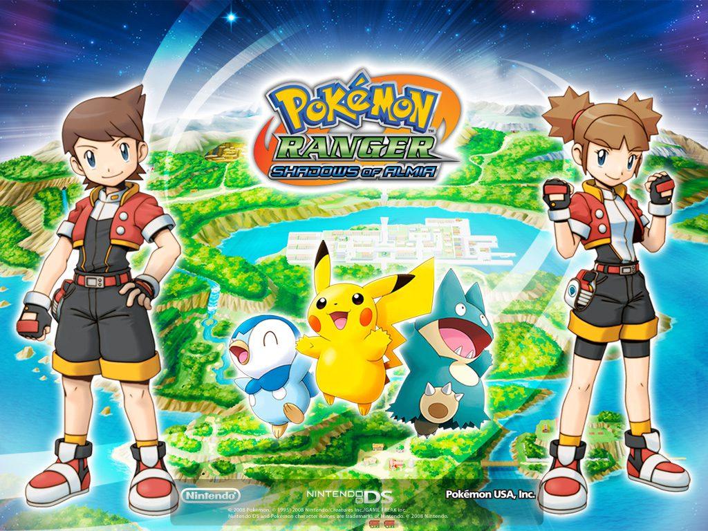Pokémon Ranger: Sombras de Almia llegará a Wii U en Europa