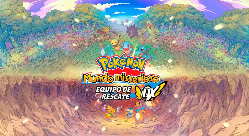 Pokémon Mundo misterioso: Equipo de rescate DX se encuentra a 39€ en la eShop de Nintendo Switch