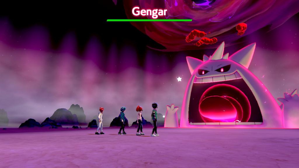 Nuevo evento de incursiones Gigamax en Pokémon Espada y Pokémon Escudo con Gengar, Snorlax y Machamp