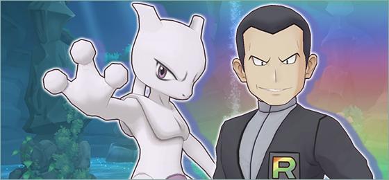 Regresa el evento de Mewtwo y Giovanni a Pokémon Masters EX