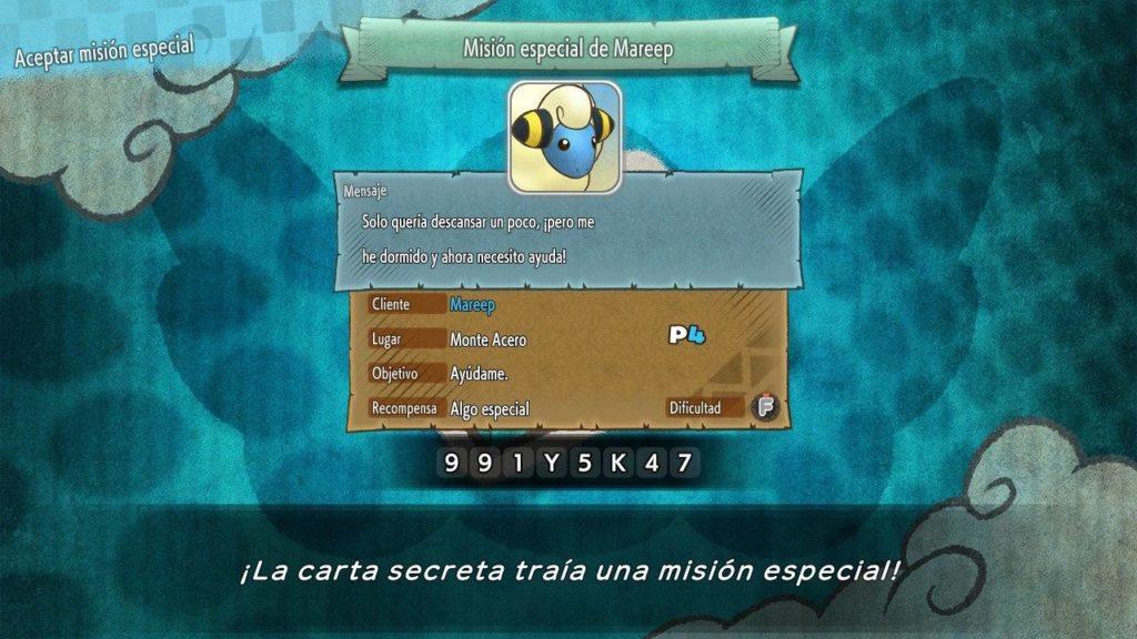 Publicada una lista de códigos de Cartas Secretas para Pokémon Mundo Misterioso: Equipo de Rescate DX