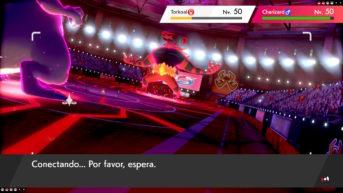 combate online pokémon espada escudo