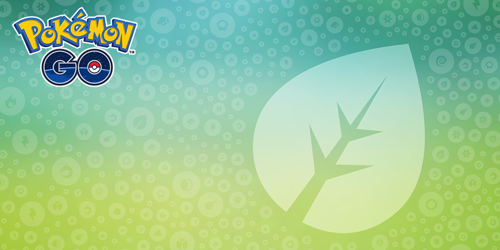 Los movimientos y Pokémon de tipo Planta han tenido cambios en Pokémon GO