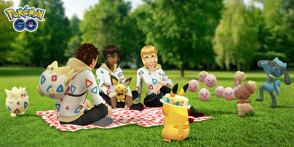 Celebra la primavera jugando desde casa a Pokémon GO