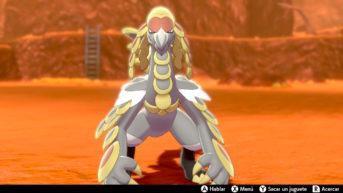 Kommo-o Pokémon Espada y Escudo