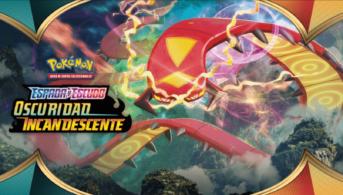 Pokémon tcg oscuridad incandescente portada centiskorch gigamax