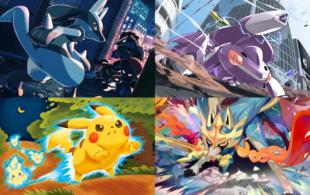 ilustraciones del concurso de pokémon tcg 2020 creatures