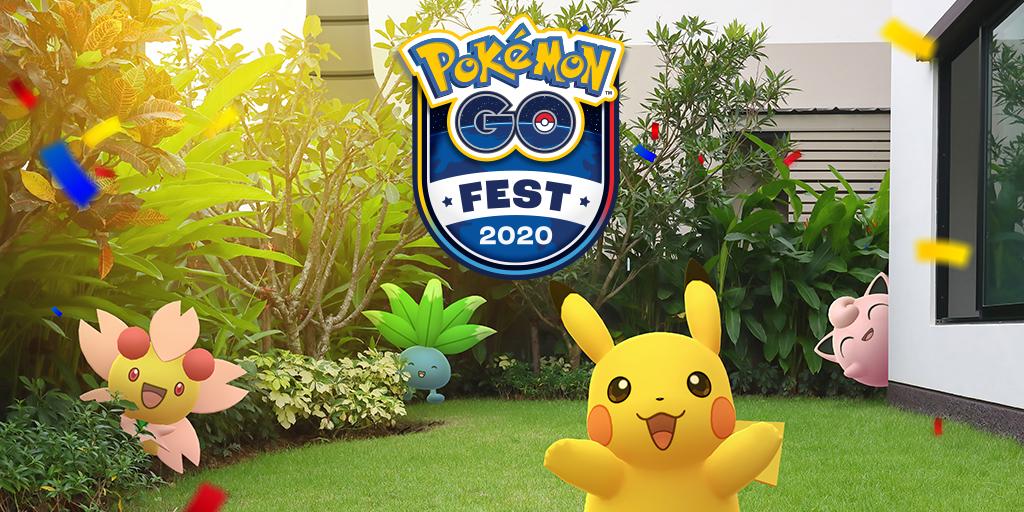 El Pokémon GO Fest de este año se celebrará de forma virtual y todos los jugadores podrán participar