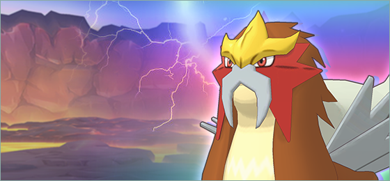 Comienza el evento de combate legendario con Entei en Pokémon Masters