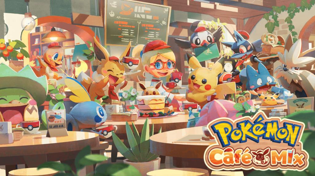 Pokémon Café Mix inicia el Torneo Cafetero, el modo competitivo de las cafeterías