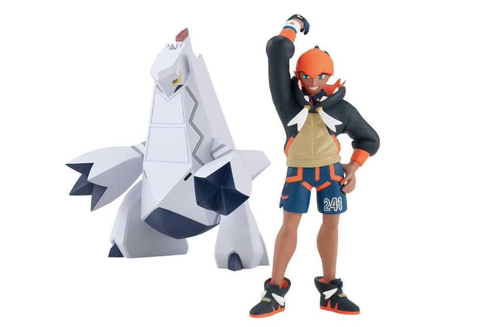 Anunciada en Japón una nueva figura de Bandai protagonizada por Roy y su Pokémon Duralodon