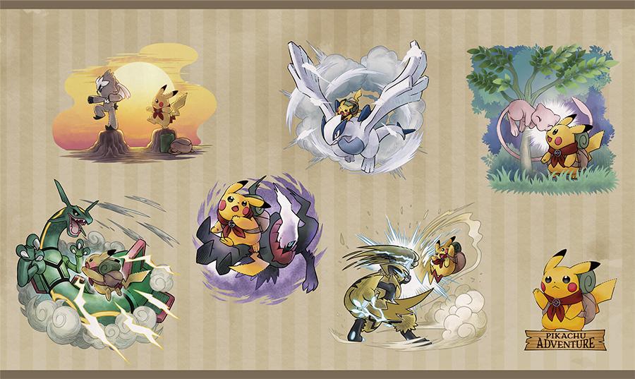El 21 de julio llegará una nueva colección de productos Pokémon protagonizada por Pikachu, legendarios y singulares