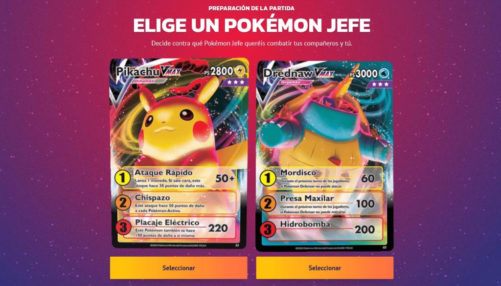 Ya disponible un nuevo modo de juego de Pokémon TCG en el que puedes recrear incursiones Dinamax