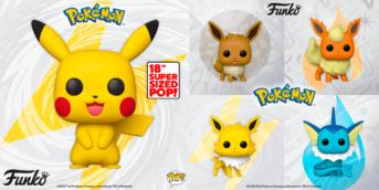 nuevas figuras funko pop pikachu e eevee pokémon