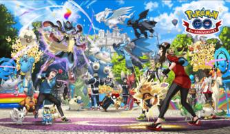 pokémon go cuarto aniversario ilustración