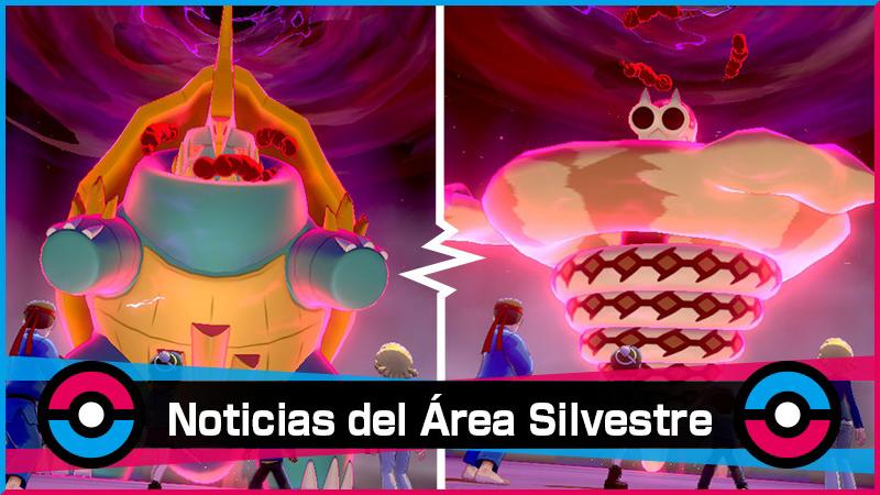 Nuevo evento de incursiones dinamax en Pokémon Espada y Escudo con Drednaw y Sandaconda Gigamax