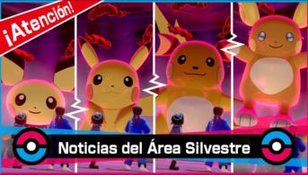 pokemon espada escudo incursiones pikachu y evoluciones