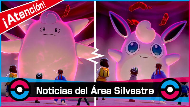 Nuevo evento de incursiones Dinamax con Pokémon relacionados a la Piedra Lunar y Solar