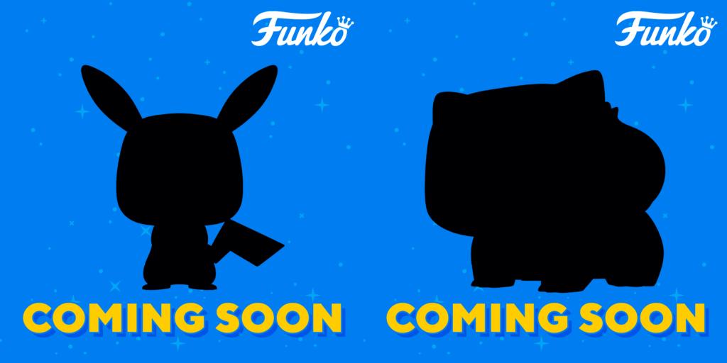 Funko Europa ha publicado dos siluetas de Pikachu y Bulbasaur