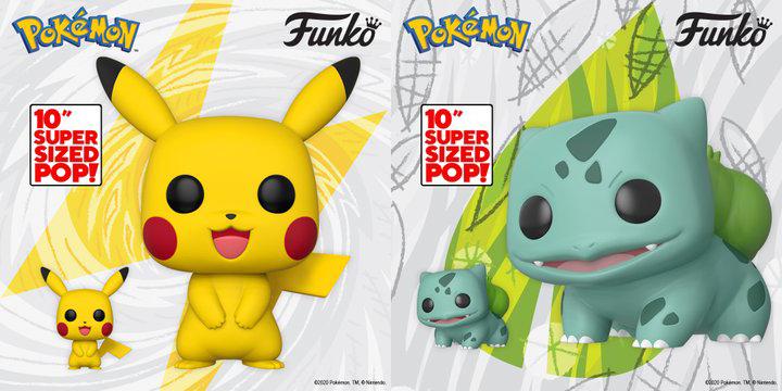 Las figura Funko Pop de Pikachu y Bulbasaur llegarán a Europa y Reino Unido