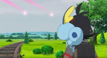 sobble y goh viajes pokémon arco galar