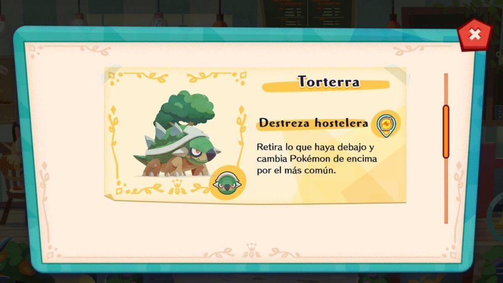 Torterra regresará este mes a las cafeterías de Pokémon Café Mix