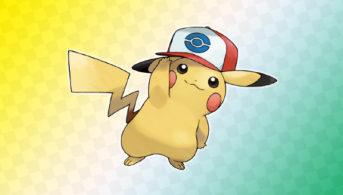 Pikachu con gorra de Ash en Teselia Unova