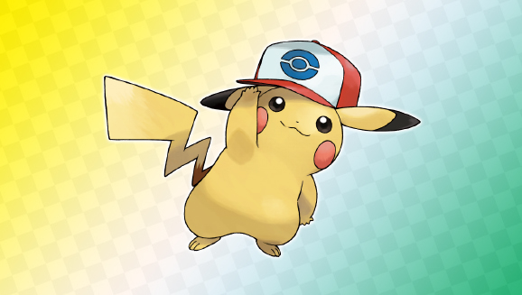 Ya disponible el código de Pikachu con la gorra de Ash en Teselia Unova