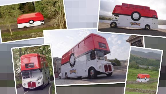 Pokémon Bus Tour una serie de Pokémon visitando lugares de Reino Unido que inspiraron Galar