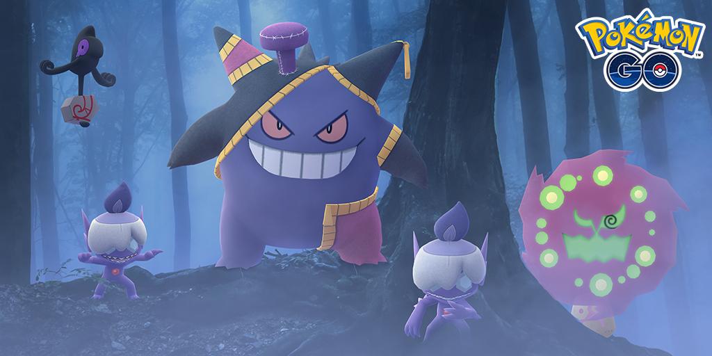 Toda la información sobre el evento de Halloween 2020 en Pokémon GO