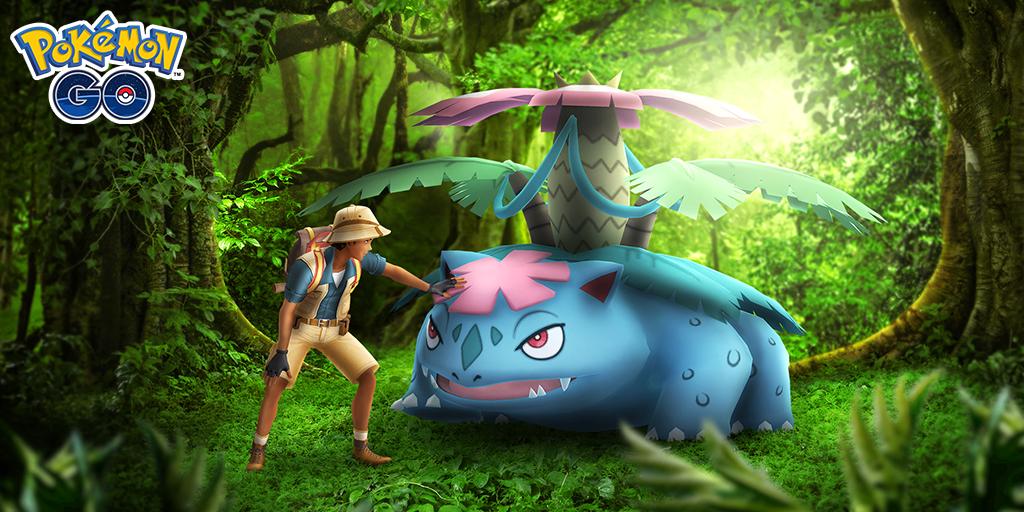 Mega Venusaur abandona las incursiones y futuros cambios a las Megas de Pokémon GO