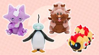 nuevos peluches pokémon galar octubre 2020