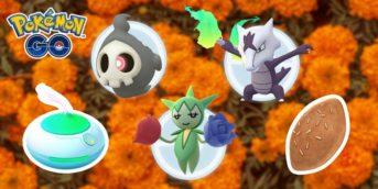 pokémon go día de los muertos