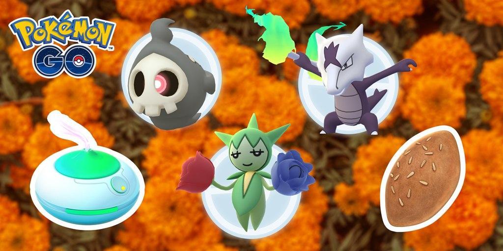 Pokémon GO, evento especial del día de los Muertos