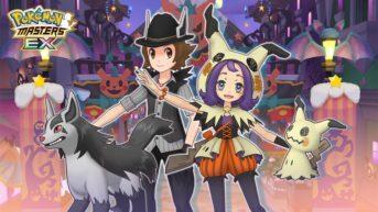 pokémon masters ex halloween 2020 portada