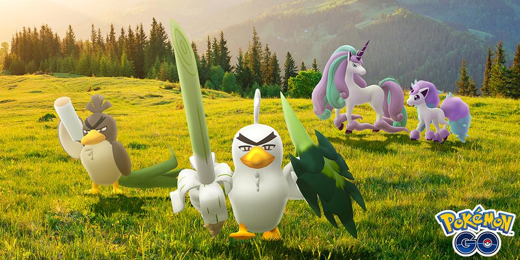 Llegan nuevas formas de Galar a Pokémon GO para celebrar el lanzamiento de Las Nieves de la Corona