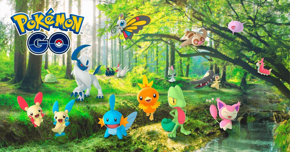 Pokémon GO comenzará a tener cambios en sus bonus especiales animándonos a jugar en la calle