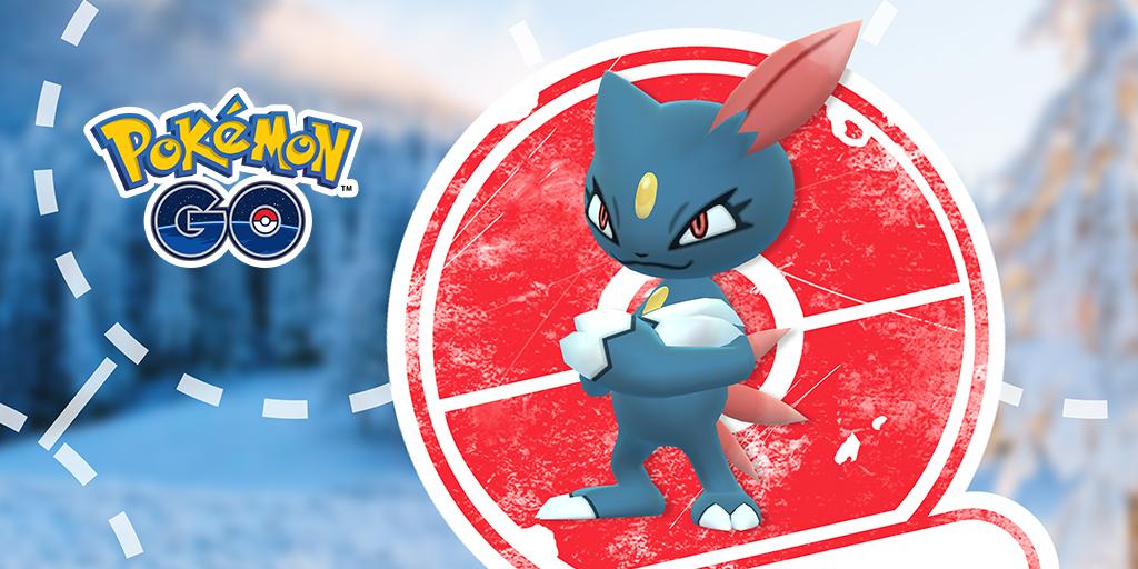 Pokémon GO tendrá una investigación especial con Sneasel y otra con Ho-Oh
