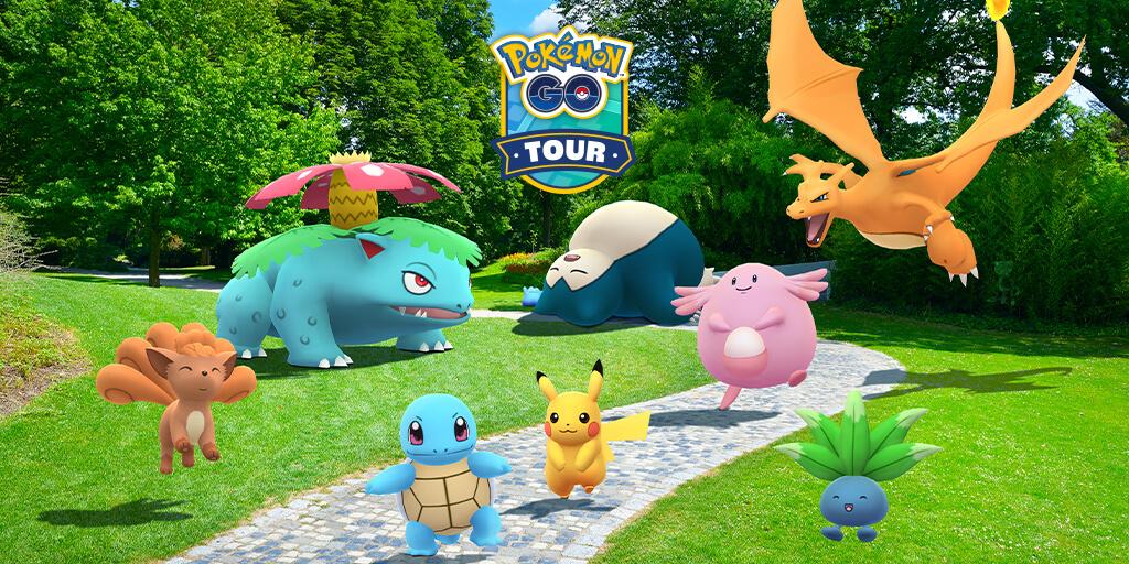 Nueva información sobre el Tour de Kanto en Pokémon GO y Ditto variocolor