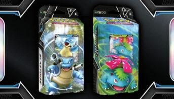 baraja Combate V, Blastoise V y Venusaur V