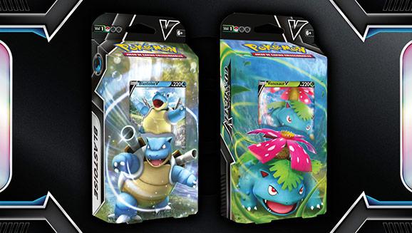 Anunciadas nuevas barajas de Pokémon TCG con Venusaur V y Blastoise V