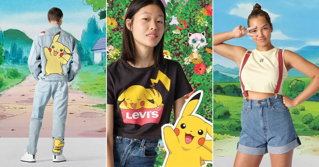 Levi's sacará ropa de Pokémon para celebrar el 25º aniversario de la saga