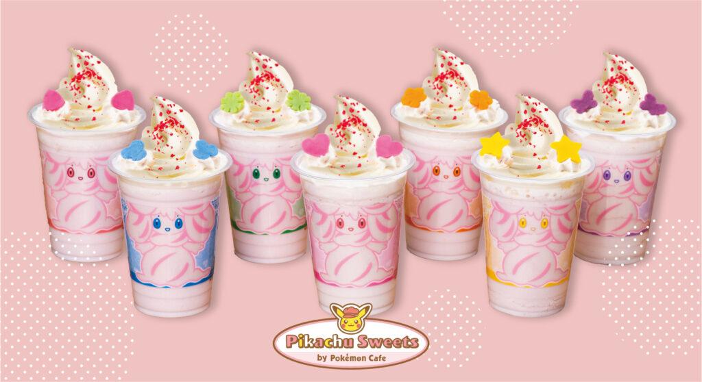 Alcremie recibirá una nueva bebida y una colección de merchandising en Japón