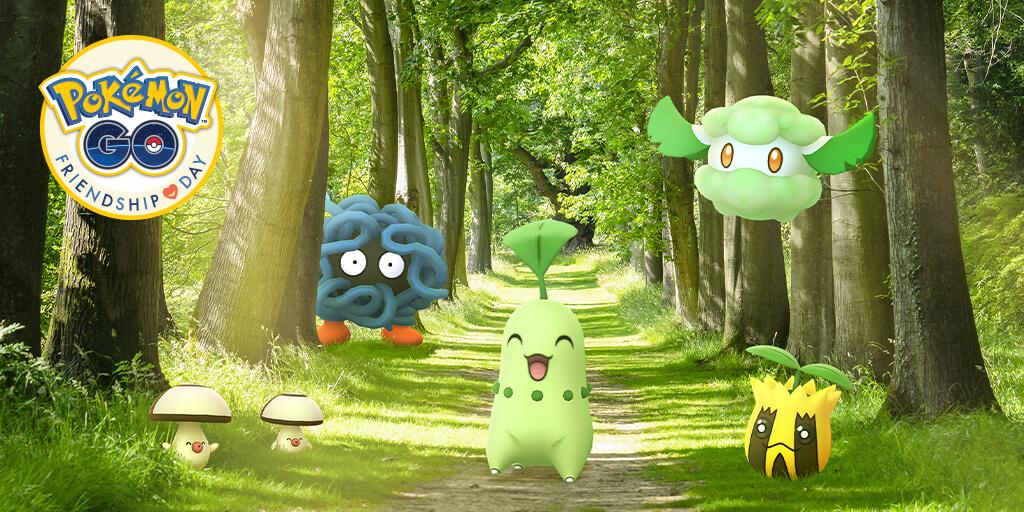 Anunciado el evento Día de la Amistad en Pokémon GO